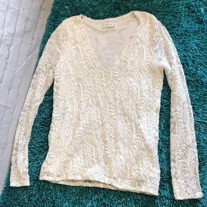 Abercrombie & Fitch medium lace top